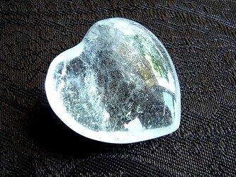 クリア水晶・ハートの画像