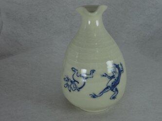 徳利(鳥獣戯画・兎と蛙の相撲)の画像