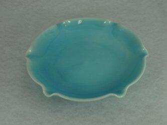 花型5寸皿(青磁)の画像