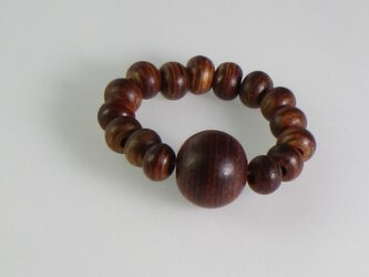 寄木 木玉指輪の画像