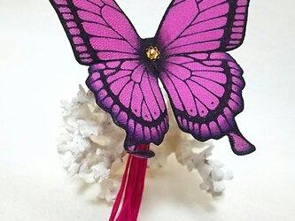 蝶のかんざし(大)アゲハの画像