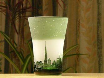 新★星降る街のタンブラー ~12星座  緑(1個)の画像