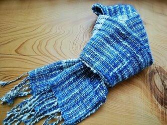 手織りミニストールno.2の画像
