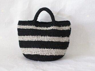 裂き編みバッグ マルシェバッグ【Mサイズ】の画像