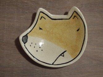 犬の豆皿(陶器)の画像