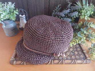 【受注制作】キャスケット《SASAWASHI》帽子の画像