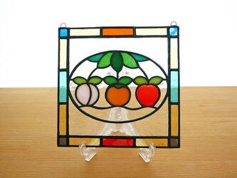 ステンドグラス ミニパネル フルーツ(ii) 15cmの画像