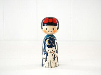 [conocokeshi]赤いリボンの女の子*白猫[2]の画像