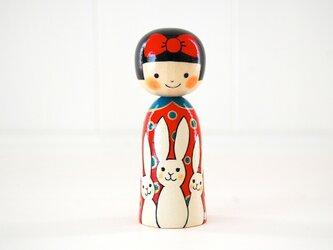 [conocokeshi]赤いリボンの女の子*白兎[4]の画像