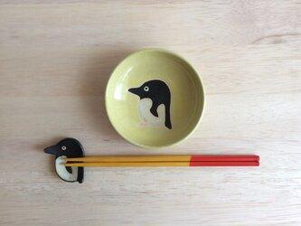 ペンギン小皿の画像