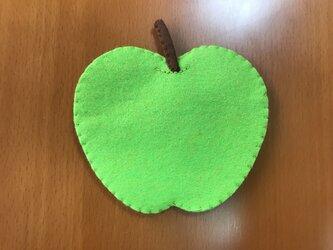コースター 青りんごの画像