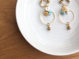 flower earring/pierceの画像