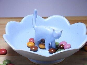 Cat Loverのためのジュエリーディッシュ・アイスブルー10の画像