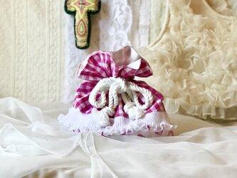クラゲフリルポーチ-チェリーピンク-の画像