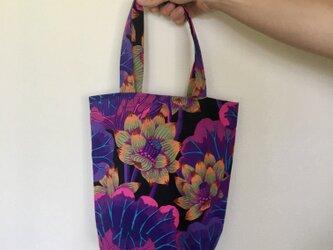 Purple Lotus / totebagの画像