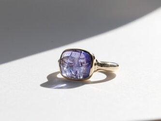 タンザナイト K10YG ringの画像