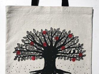 Big Tree Tote 綿×麻の画像