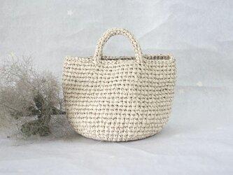 裂き編みバッグ マルシェバッグ【Sサイズ】の画像