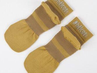 癒本舗の ヒルコス 男女兼用 靴下 抗菌防臭 ショートソックス オイル 24~26cmの画像