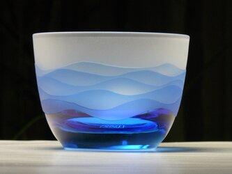 あさなぎ 冷茶・冷酒グラス  A (1個)の画像