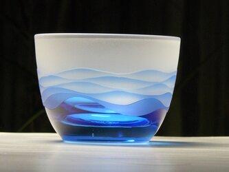 あさなぎ 冷茶・冷酒グラス  B (1個)の画像