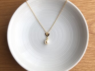 pearl necklace【white】の画像