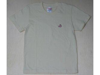 ピンクのうさぎ Tシャツキッズの画像