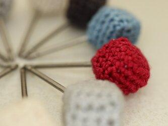 糸編みのキュービックピアス   [Cubic_6]の画像