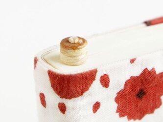 寄木のホットケーキしおりミニ(ブックマーカー)の画像