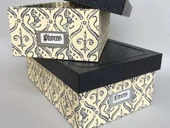 紳士のための蓋付きBOX(小)の画像