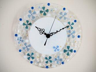 【オーダー制作】壁掛け時計(sea flower)の画像