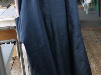 正絹亀甲柄ストンとワンピースの画像