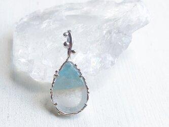 Paraiba Quartz Necklaceの画像