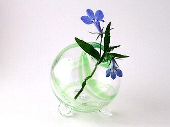 小さな小さな花差し(緑)の画像