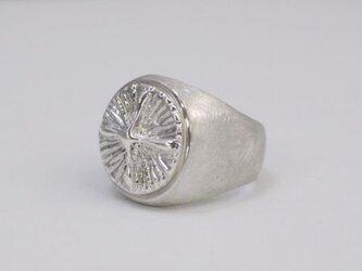 cross button ring(sv)の画像