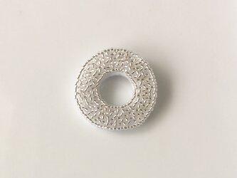 silver ring ♯1  ブローチの画像