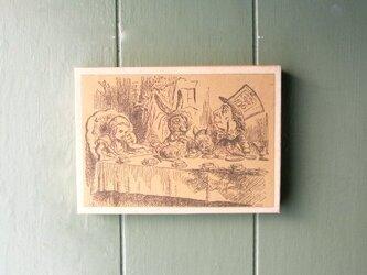 アリスのお茶会 壁掛けパネルの画像
