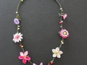 イーネオヤ⁂ピンクのネックレスの画像