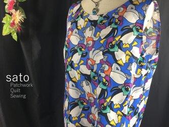ペンギン柄のノースリーブの画像
