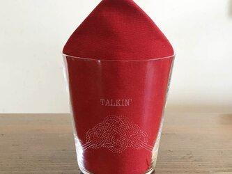 名入れ/文字入れで特別なグラスに 名入れ:水引デザイングラス(松)の画像