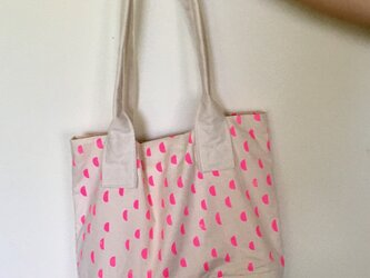 pink moon / tote bagの画像