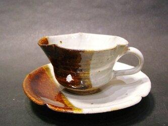 朝鮮唐津コーヒーカップ(掛け分け)の画像