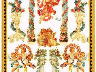 イギリス製クロモス 天使のアーチ  ラメなし DA-CHE016の画像