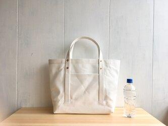 【受注製作】白い鞄の画像