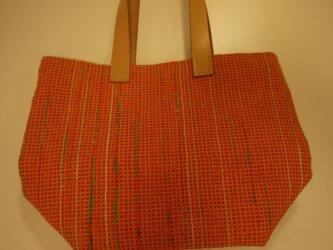 裂き織りバッグ NO20の画像
