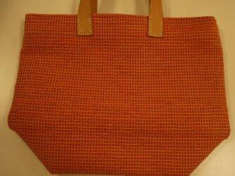 裂き織りバッグ NO21の画像