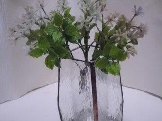 ステンドグラス花瓶の画像