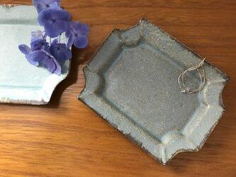 アンティークな形の小皿 ペアの画像