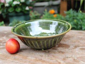 緑の深鉢[18Jun-10]《粉引》の画像