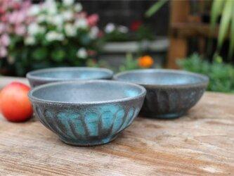 ブルー器 小鉢セット[18Jun-11]《釉薬》の画像